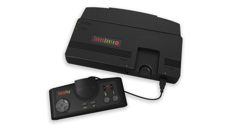 Konami Announces The Turbografx-16 Mini