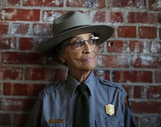 Illustration for article titled Meet the oldest park ranger in the USA