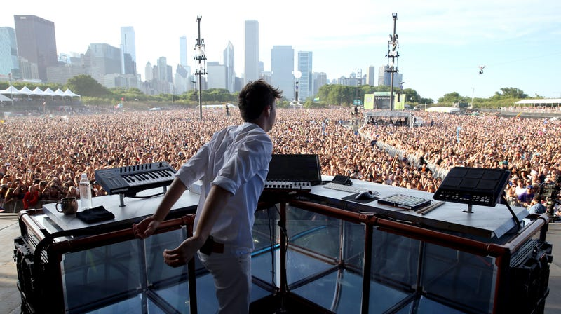 Image result for flume lollapalooza