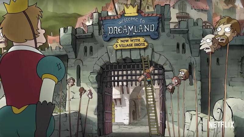 This scene might conjure up Ned Stark vibes, but Matt Groening promises Disenchantment is avoiding parody.