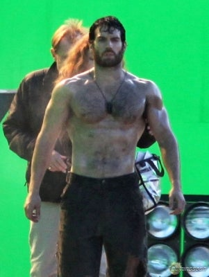 Illustration for article titled Man of Steel — Even More Green Screen Pictures