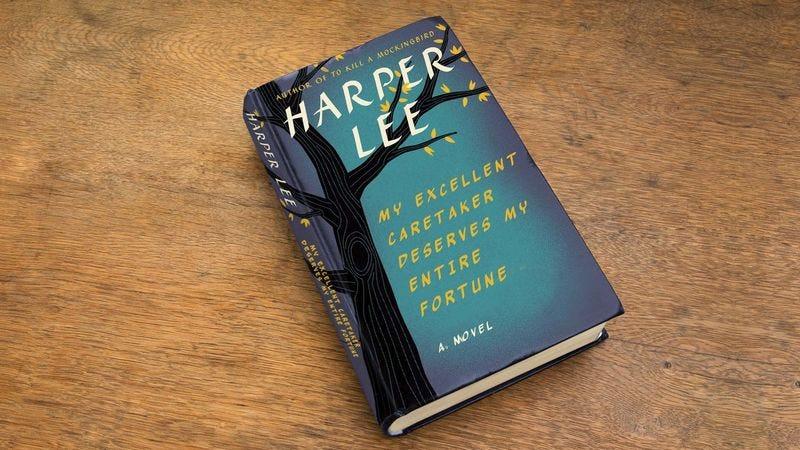 Illustration for article titled Harper Lee Announces Third Novel, 'My Excellent Caretaker Deserves My Entire Fortune'
