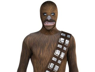 Illustration for article titled And now the most horrifying Star Wars costume we've ever seen