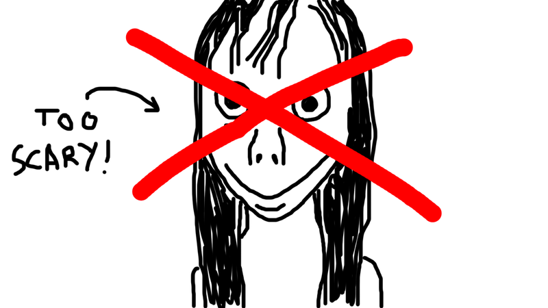 Illustration for article titled Honestly, Momo Scares the Shit Out of Me