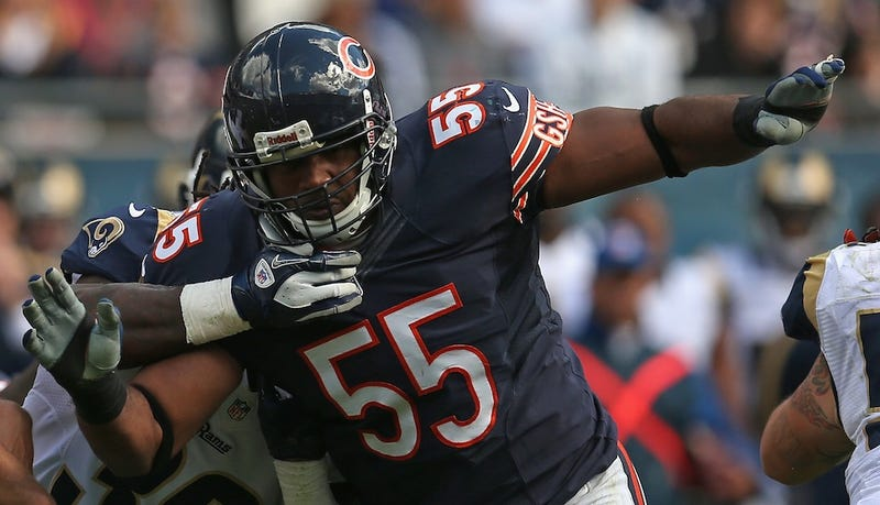 "Illustration for article titled Lance Briggs Warns Of Potential ""Dangerous Boners"" Epidemic In NFL"