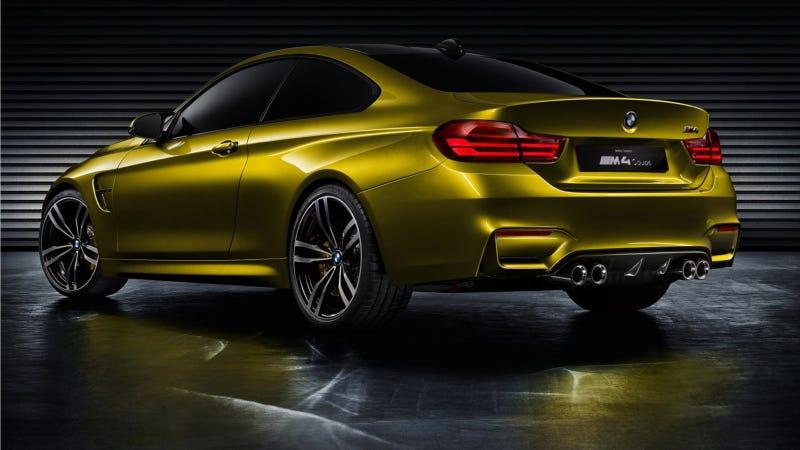 Illustration for article titled Durva lesz az új BMW M3, izé, M4