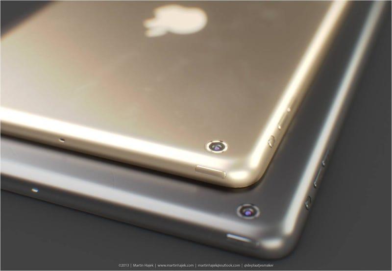 Illustration for article titled Si Apple lanza un iPad dorado, se parecerá mucho a este