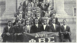 Members of the founding chapter of Phi Beta SigmaPhi Beta Sigma