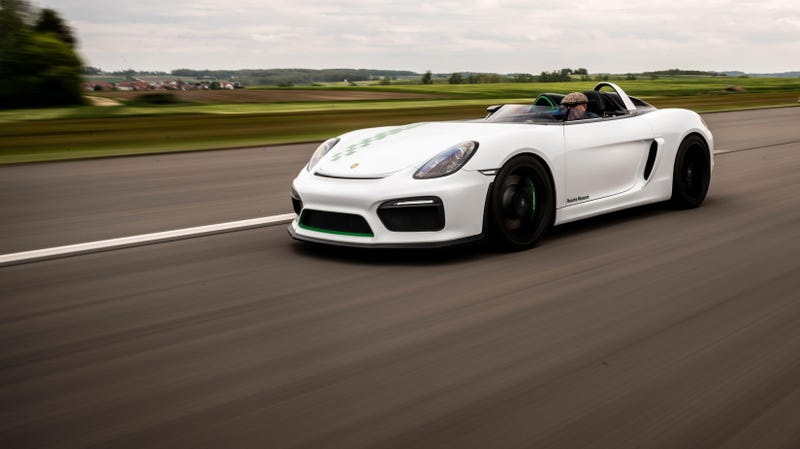 Porsche Forgot to Give the Boxster Bergspyder a Roof