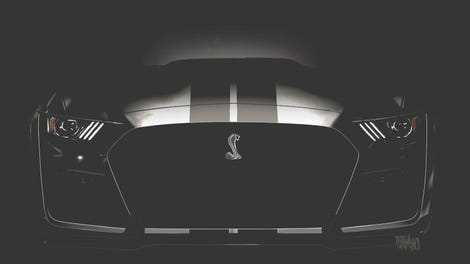 2020 Ford Mustang Shelby Gt500 This Is It