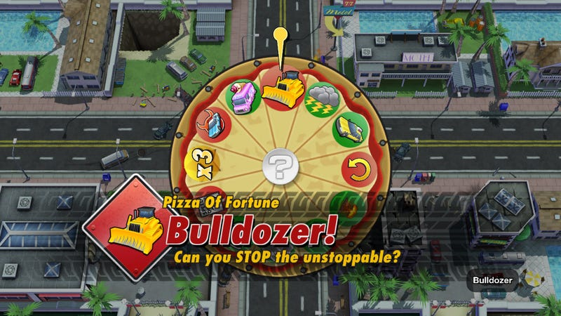 Illustration for article titled The Pizza of Fortune Will Be the Key to Burnout Crash's Success