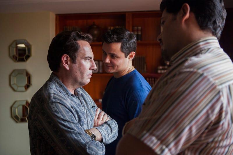 Francisco Denis, Arturo Castro (Photo: Juan Pablo Gutierrez/Netflix)