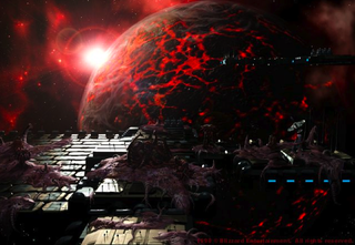 Illustration for article titled What if the zerg creep from Starcraft existed in real life?