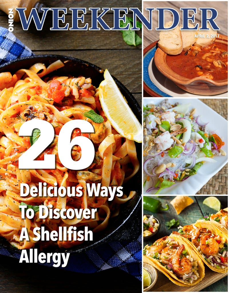 Illustration for article titled 26 Delicious Ways To Discover A Shellfish Allergy