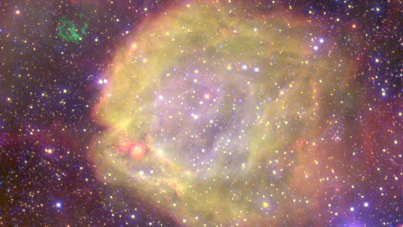 Illustration for article titled This nebula might be home to the universe's hottest star