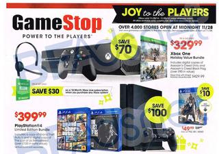 Illustration for article titled GameStop's 2014 Black Friday Deals Have Leaked