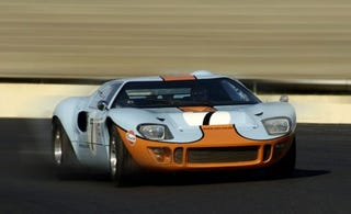 Illustration for article titled Auto Futura Recreates Modern GT40 in Gulf Oil Livery