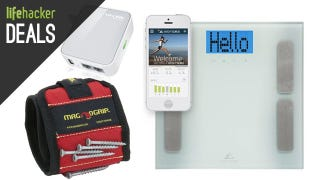 Illustration for article titled Tablets For Cheap, $20 Travel Router, Smart Scale, Magnetic Wristband