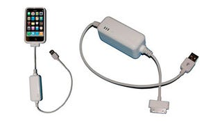 Illustration for article titled XP1-Power USB iPhone Charger Packs a Back Up Battery Just In Case