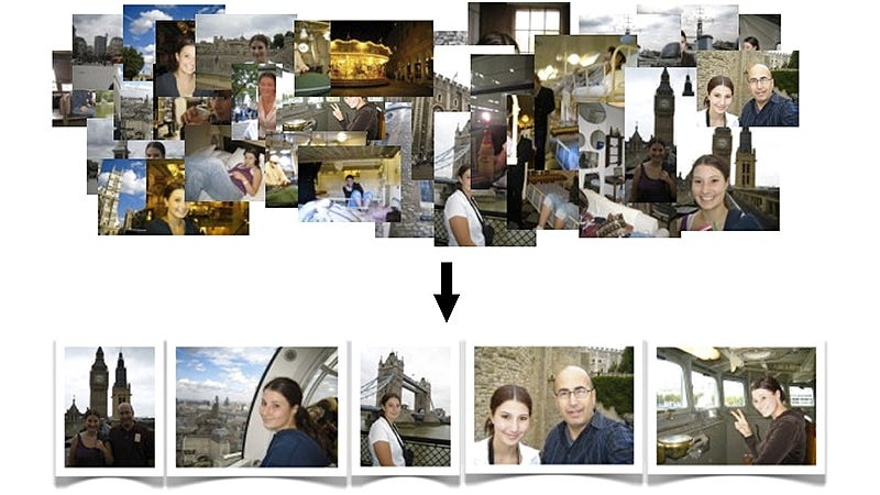 Illustration for article titled Software Could Automatically Put Your Vacation Photos in Perfect Order
