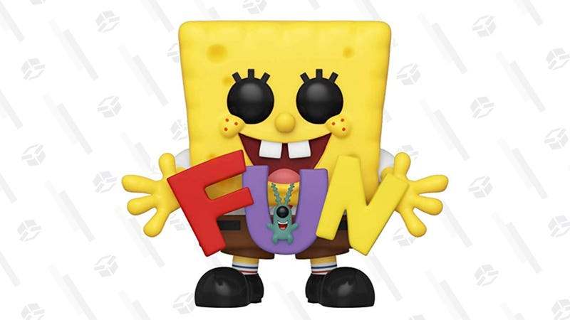 Funko Pop! Spongebob & Plankton with Fun Song Letters