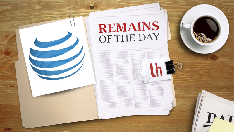 Illustration for article titled Remains of the Day: AT&T Customers Can Now FaceTime Without Restriction