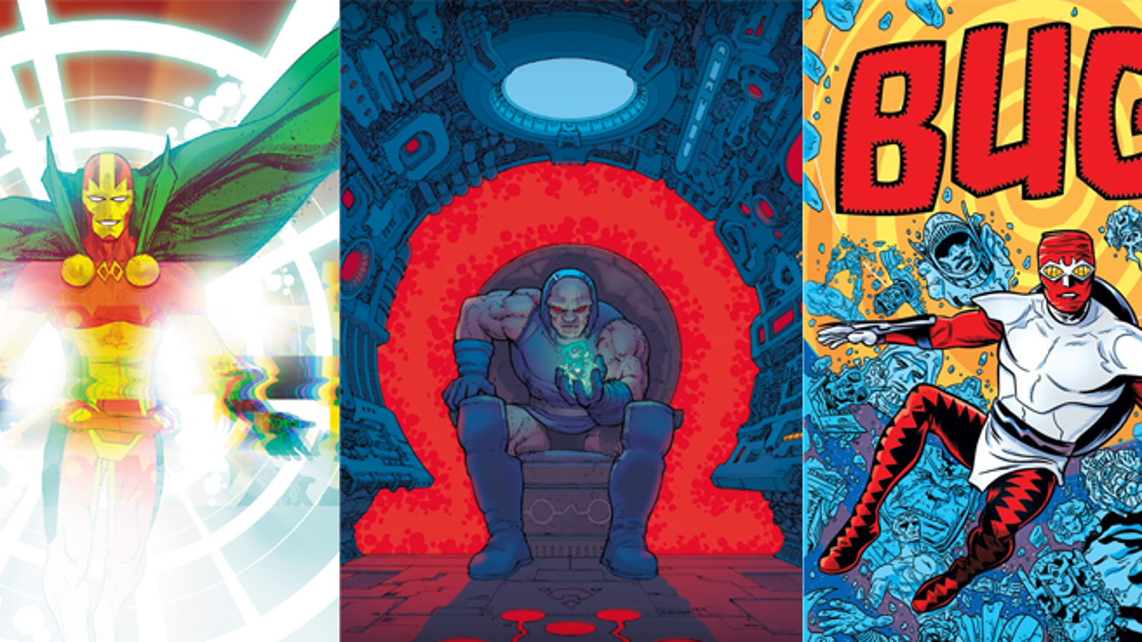 Why Is DC Comics Doing a Better Job of Celebrating Jack Kirby's 100th Birthday Than Marvel?