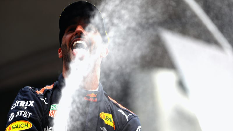 Daniel Ricciardo Thinks Max Verstappen Should 'Massage' His F1 Car More