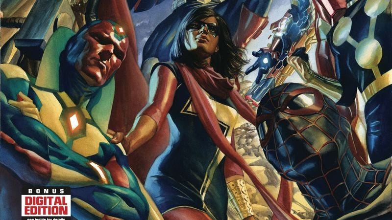 Illustration for article titled Exclusive Marvel preview: Mark Waid assembles the All-New, All-Different Avengers