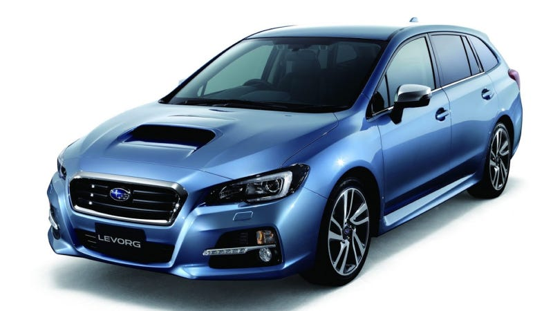 Illustration for article titled The Subaru Levorg Is A Hot Turbocharged Wagon With A Goofy Name