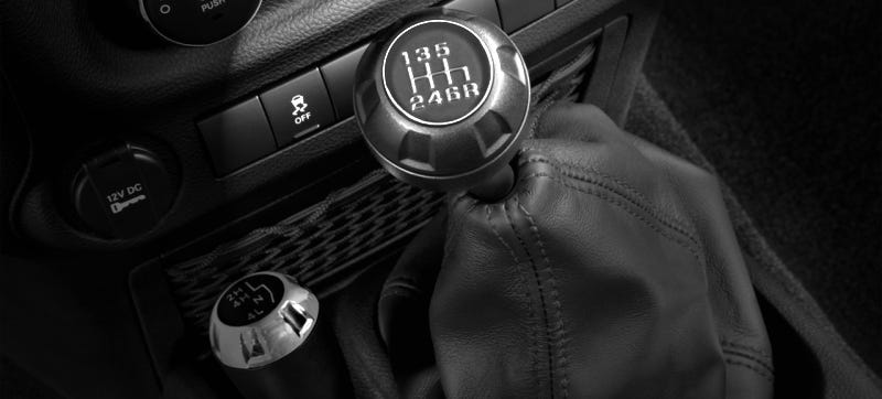 Illustration for article titled Rejoice! For The 2018 Jeep Wrangler Should Get A Manual After All