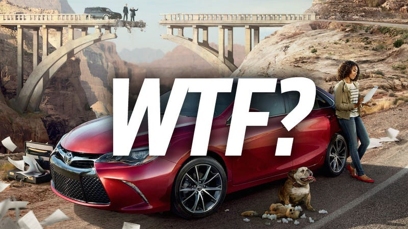 Illustration for article titled Why Does Toyota Want To Blow Up The Hoover Dam?