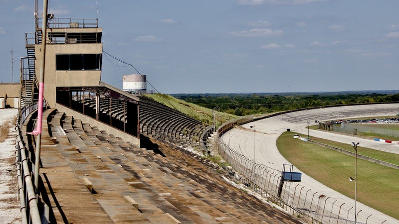 Texas World Speedway in September 2017.