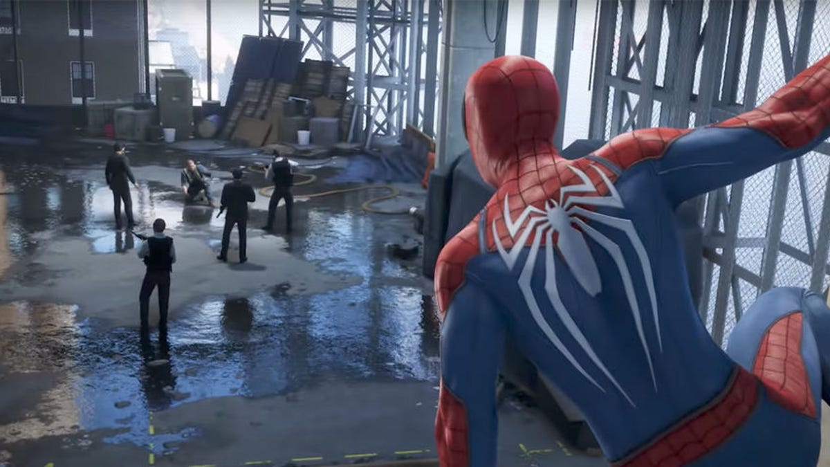 The New Spider-Man Game Won't Let You Kill Anybody