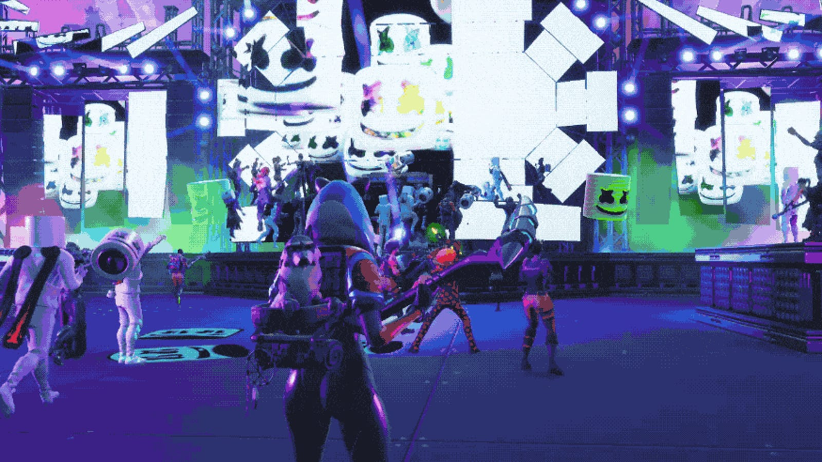 Fortnite Had An In-Game Marshmello Concert, And It Was
