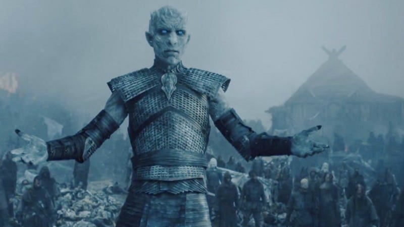 We're not talking about the Night King—he's definitely going to feature prominently in the final season