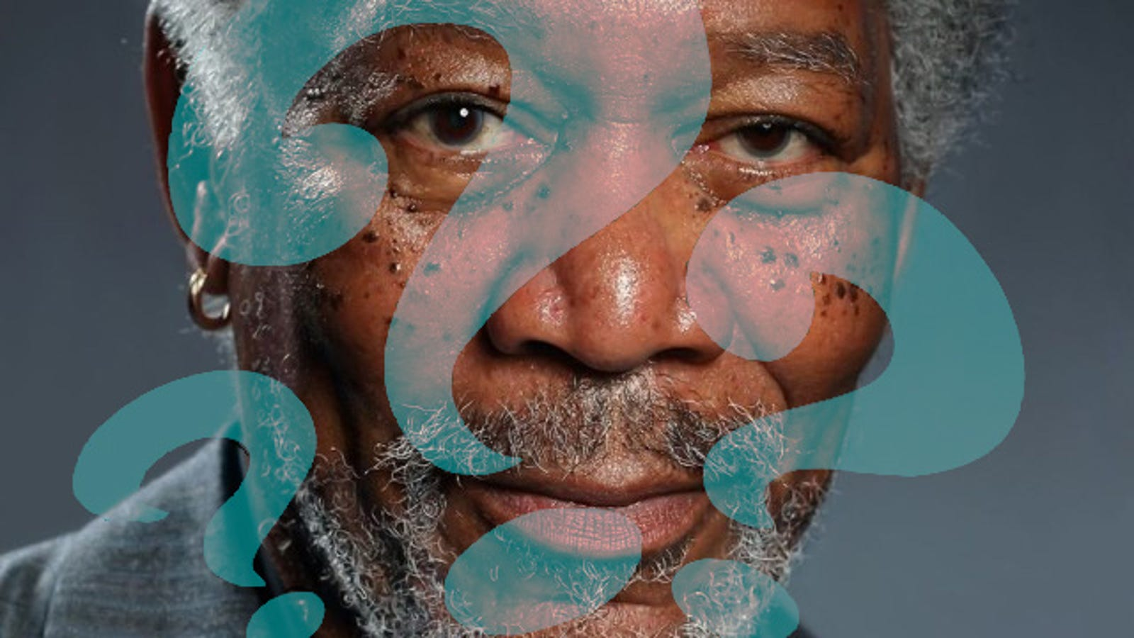 The Insane Morgan Freeman iPad Painting: An Investigation in Four Acts