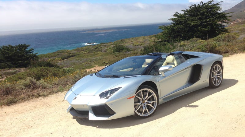 A Lamborghini Roadster Should Always Be Driven Near A Coast