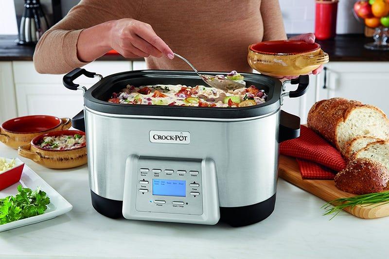6- Quart Crock-Pot Multi-Cooker, $100