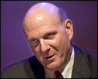 Illustration for article titled Ballmer's ratings are almost as good (bad) as Congress!