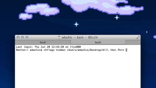Illustration for article titled Hide Any File or Folder on Your Mac with a One Simple Terminal Command