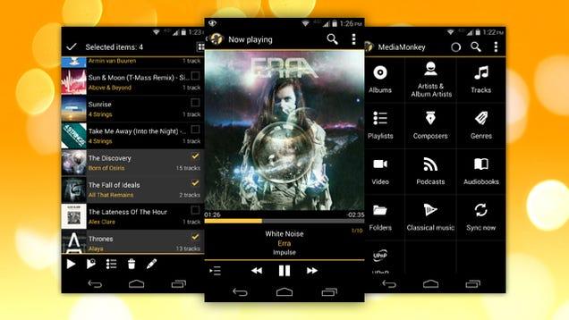 MediaMonkey for Android full screenshot