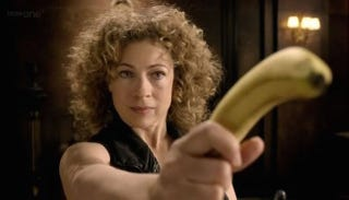 Illustration for article titled River Song Is Returning to Doctor Who. Great. Whee.