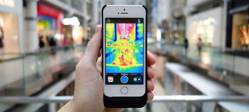 Illustration for article titled 16 Ways To Use FLIR's Incredibly Fun Predator-Vision iPhone Camera