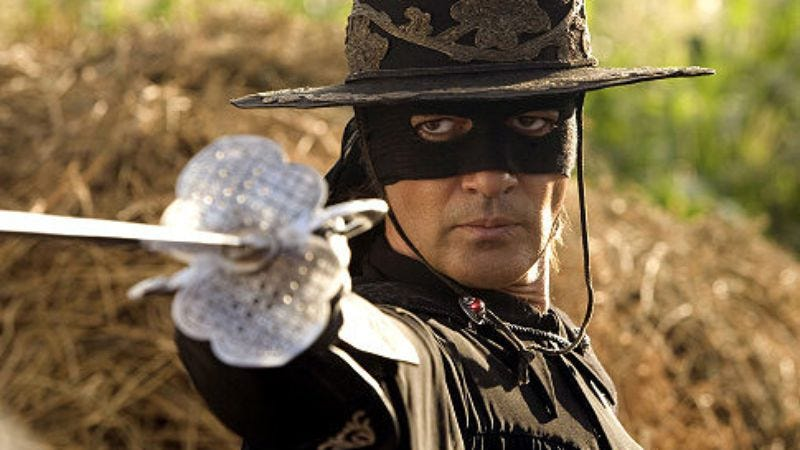 Antonio Banderas in The Mask Of Zorro