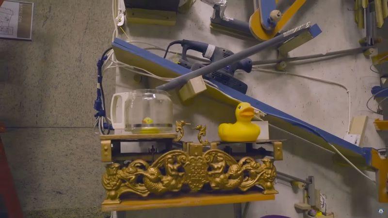 World's Largest Rube Goldberg Machine (Screenshot: YouTube)