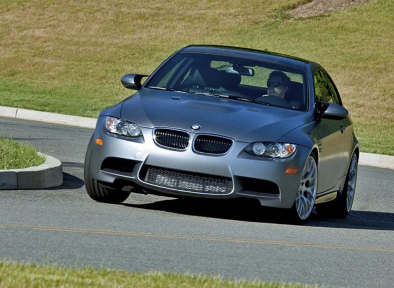 Illustration for article titled BMW M3 Frozen Gray Coupe: A $9K Paint Job