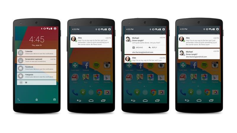Illustration for article titled Estos son los terminales que podrás actualizar a Android 5.0 Lollipop