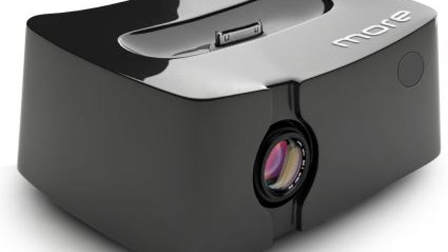 Portable projector for iphone is concept from honlai for Best portable projector for iphone 6