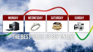 Illustration for article titled The Best Days of the Week to Buy Big-Ticket Items Online